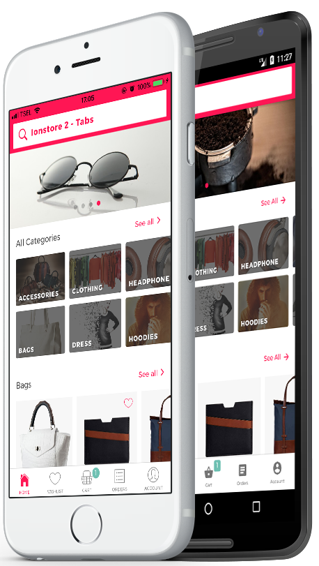 Ionstore 2 - Ionic WooCommerce Full App for Android and iOS